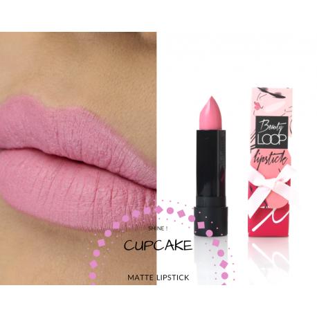 Sobeauty matte lipstick cupcake