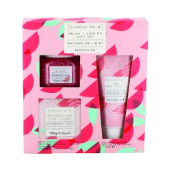Watermelon&Mint Relax Gift Set by Sunday Rain