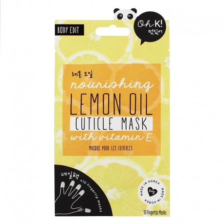 Oh K! Nourishing Lemon Oil Cuticle Mask