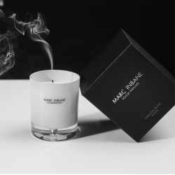 Luxurious candle by Marc Inbane
