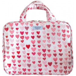 Wicked sista Beauty case hearts large