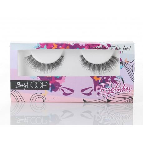 beauty loop eyelashes liv